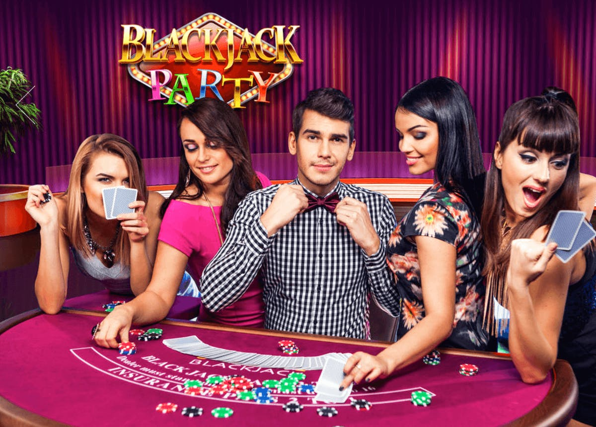 Have a Blackjack Party With Evolution Live!