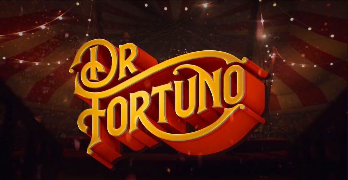 Drehe das Glücksrad in Dr. Fortuno's Circus