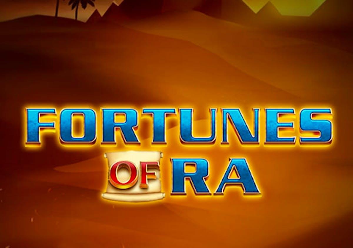 Metsästä Egyptin rikkauksia pelissä Fortunes of Ra